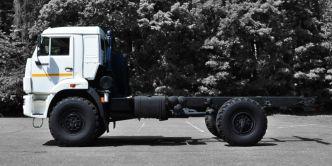 KAMAZ 4x4 43502 chassis