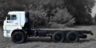 KAMAZ 6x6 43118 chassis