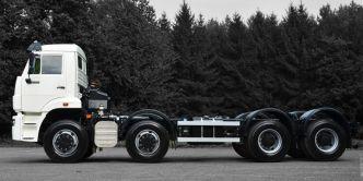 KAMAZ 8x4 65201 chassis