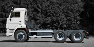 KAMAZ 6x4 6520 chassis