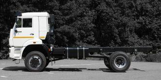 KAMAZ 4x4 43265 chassis